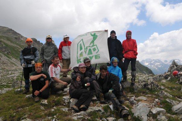 Встреча отделений школы на перевале Айюлю Архыз Кавказ