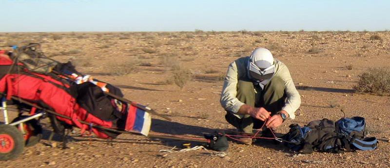 Пешеходный маршрут по Западной Сахаре братьев Синельников