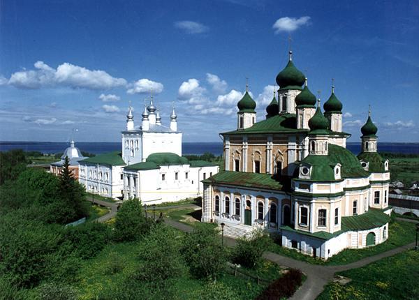 Вид Переславля-Залесского