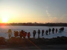 Лыжный поход выходного дня с Клубом АТО