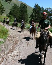 Конный поход в Приэльбрусье, Кавказ