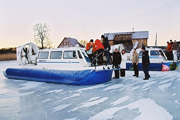 Приключение в новогоднюю ночь в Карелии с заездом в Кижи