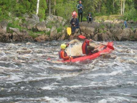 Водный туризм в Карелии сплав по рекам