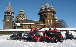 Путешествия по Карелии зимой 2009 года