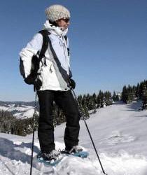Поход на снегоступах по горам Болгарии