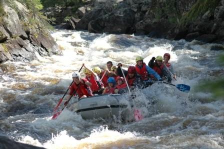 Сплав на рафтах по реке Охта