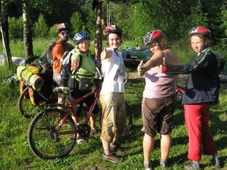 Путешествие в глубь веков Карелии на велосипедах