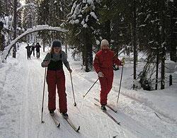 Лыжное приключение в Карелии.