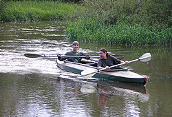 Весенний водный поход на байдарках по рекам Карелии Важинка
