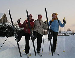 Лыжное приключение в Карелии этой зимой