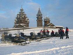 Автомото путешествие на снегоходах по Карелии для всех желающих