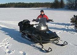 Автомото путешествие на снегоходах