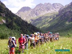 Походы на Кавказе - настоящее приключение для туристов