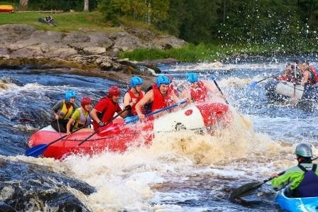 Сплав выходного дня в Южной Карелии по реке Шуя