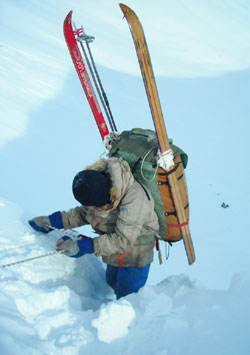 Действия в экстремальных ситуациях в лыжном походе