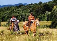 Балканский след конный маршрут в Болгарии для опытных участников