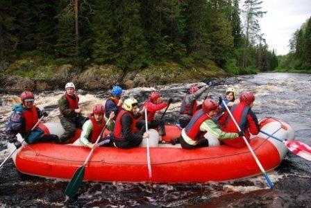 Сплавеы по рекам Карелии на майские праздники это всегда приключение и отличный отдых