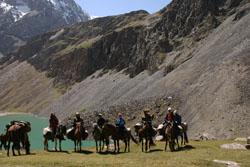 Конный поход по Киргизии