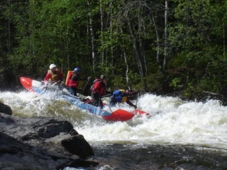 Сплав на катамаранах по реке Кутсайоки