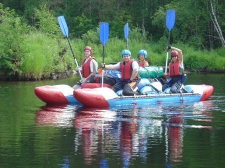 спортивный сплав на катамаранах по реке Умба
