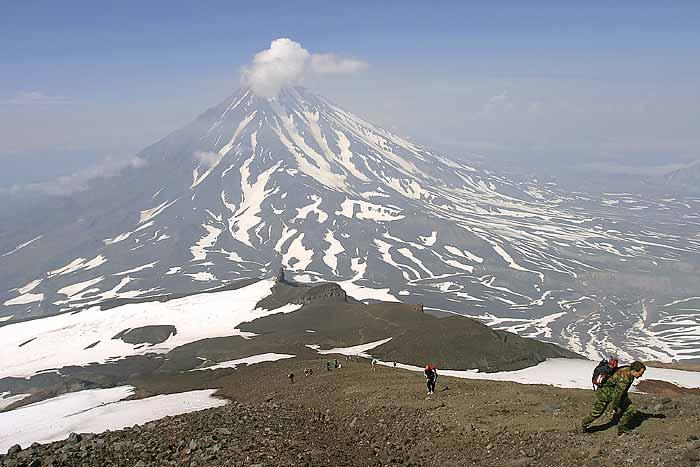 Восхождение на вулканы Камчатки